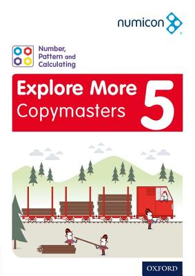 Numicon: Number, Pattern and Calculating 5 Explore More Copymasters5 - Varney, Donna