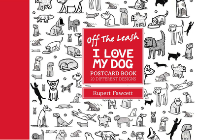 Off the Leash I Love My Dog Postcard Boo -
