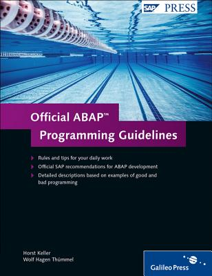 Official ABAP Programming Guidelines - Keller, H., and Thummel, W.