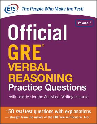 Official GRE Verbal Reasoning Practice Questions - Educational Testing Service