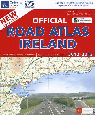 Official Road Atlas Ireland 2012-2013 - Ordnance Survey Ireland