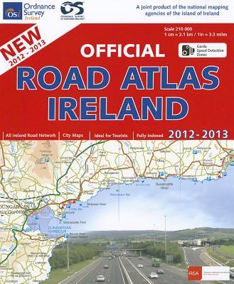 Official Road Atlas Ireland 2012-2013 - Ordnance Survey Ireland