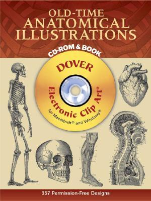 Old-Time Anatomical Illustrations - Harter, Jim, Mr. (Editor)
