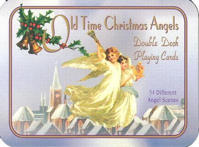 Old Time Christmas Angels Double Deck Playing Cards: 54 Different Angel Scenes - U S Games Systems (Manufactured by)