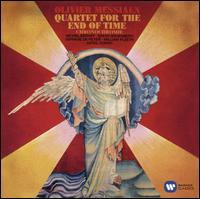 Olivier Messiaen: Quartet for the End of Time - Erich Gruenberg (violin); Gervase de Peyer (clarinet); Michel Béroff (piano); William Pleeth (cello); BBC Symphony Orchestra;...