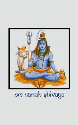 Om Namah Shivaya: Journal with Lord Shiva Pictures on Front and Back Covers - Peaceful Images of Hindu God Shiva [pocket-Sized / Compact - 5x8 Inches / Grey] - The Mindful Word