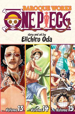 One Piece: Baroque Works, Volumes 13-15 - Oda, Eiichiro
