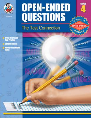Open-Ended Questions, Grade 5: The Test Connection - Evans, Lesli