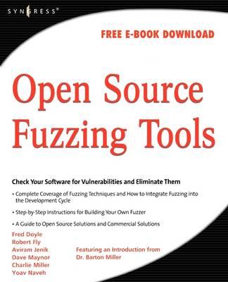 Open Source Fuzzing Tools - Rathaus, Noam, and Evron, Gadi
