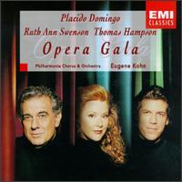 Opera Gala - Plácido Domingo (tenor); Ruth Ann Swenson (soprano); Thomas Hampson (baritone); Philharmonia Chorus (choir, chorus);...
