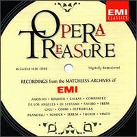 Opera Treasure - Augusta Oltrabella (vocals); Beniamino Gigli (vocals); Giacinto Prandelli (vocals); Giuseppe di Stefano (vocals);...