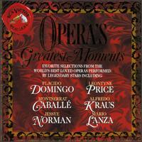Operas Greatest Moments - Alfredo Kraus (tenor); Anna Moffo (soprano); Ben Heppner (tenor); David Syrus (harpsichord); Dmitri Hvorostovsky (baritone);...