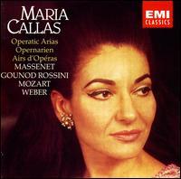 Operatic Arias - Maria Callas (soprano); Paris Conservatory Concert Society Orchestra