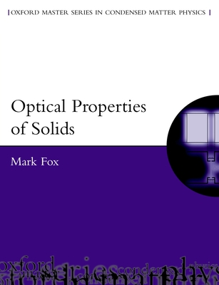 Optical Properties of Solids - Fox, Mark