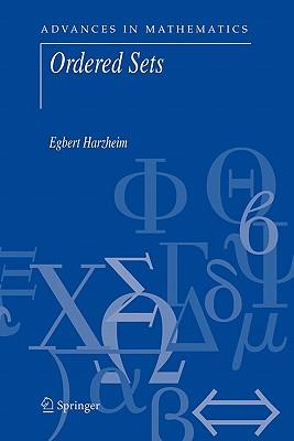 Ordered Sets - Harzheim, Egbert