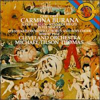 Orff: Carmina Burana - Judith Blegen (soprano); Kenneth Riegel (tenor); Peter Binder (baritone); Cleveland Orchestra Chorus (choir, chorus);...