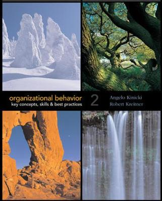 Organizational Behavior with Student CD-ROM and Olc Card - Kinicki, Angelo, and Kreitner, Robert