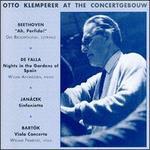 Otto Klemperer at the Concertgebouw
