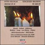 Otto Nicolai: Messe in D; Vincenzo Righini: Te Deum