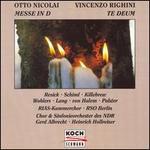 Otto Nicolai: Messe in D; Vincenzo Righini: Te Deum