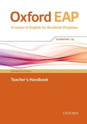 Oxford EAP: Elementary/A2: Teacher's Book, DVD and Audio CD Pack - de Chazal, Edward, and Hughes, John