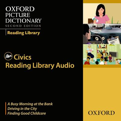 Oxford Picture Dictionary 2nd Edition Reading Library Civics CD -
