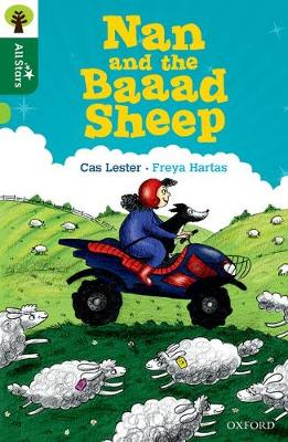 Oxford Reading Tree All Stars: Oxford Level 12 : Nan and the Baaad Sheep - Lester, Cas