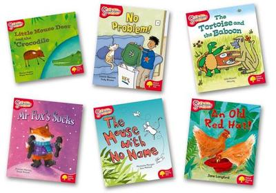 Oxford Reading Tree: Stage 4: Snapdragons: Pack (6 Books, 1 of Each Title) - Langford, Jane