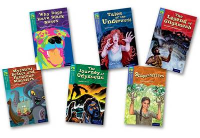 Oxford Reading Tree TreeTops Myths and Legends: Levels 16 and 17: Pack of 6 - Laird, Elizabeth, and Knapman, Timothy, and Calcutt, David