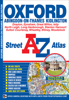 Oxford Street Atlas - Geographers' A-Z Map Company