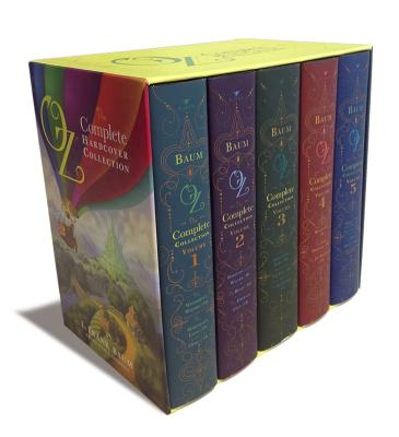 Oz: The Complete Hardcover Collection 5 Volume Set - Baum, L Frank