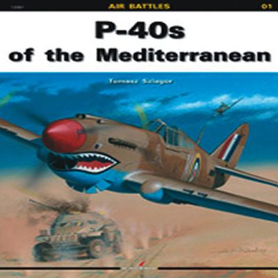 P-40s of the Mediterranean - Szlagor, Tomasz