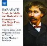 Pablo Sarasate: Music for Violin & Orchestra, Vol. 3