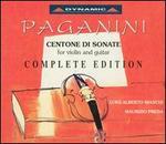 Paganini: Centone di Sonate Complete Edition [Box Set]