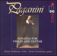 Paganini: Sonatas for Violin and Guitar - Rainer Kussmaul (violin); Sonja Prunnbauer (guitar)