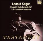 Paganini: Violin Concerto No. 1; Lalo: Symphonie espagnole