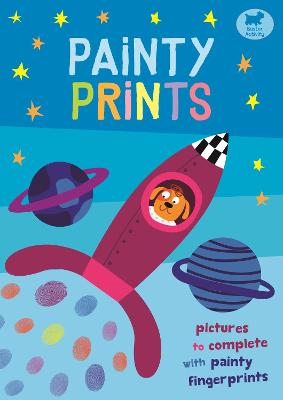 Painty Prints: Pictures to Complete with Painty Fingerprints - Martin, Jorge
