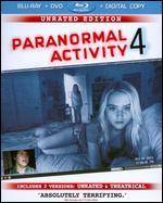 Paranormal Activity 4 [Unrated Director's Cut] [Blu-ray/DVD] [Includes Digital Copy]