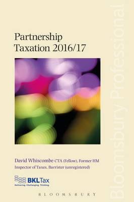 Partnership Taxation 2016/17 - Whiscombe, David