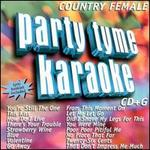 Party Tyme Karaoke: Country Female