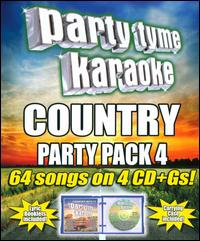 Party Tyme Karaoke: Country Party Pack, Vol. 4 - Various Artists