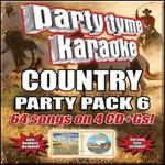 Party Tyme Karaoke: Country Party Pack, Vol. 6