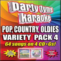 Party Tyme Karaoke - Variety Pack 4 [4 CD] - Karaoke