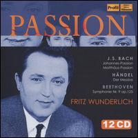 Passion - Agnes Giebel (soprano); Beatrice Reichert (viola da gamba); Camillo Wanausek (flute); Christa Ludwig (alto);...