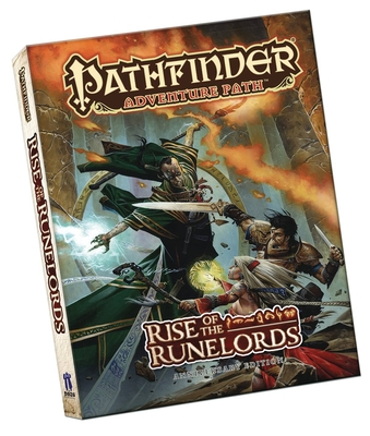 Pathfinder Adventure Path: Rise of the Runelords Anniversary Edition Pocket Edition - Jacobs, James, and Logue, Nicolas, and Baur, Wolfgang