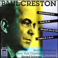 Paul Creston: Orchestral Works, Vol. 2 - Gerard Schwarz (conductor)