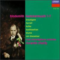 Paul Hindemith: Kammermusik Nos. 1-7 - Kim Kashkashian (viola); Konstanty Kulka (violin); Leo Van Doeselaar (organ); Norbert Blum (viola d'amore);...
