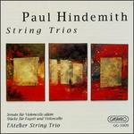 Paul Hindemith: String Trios
