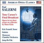 Paul Salerni: Tony Caruso's Final Broadcast