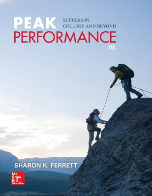 Peak Performance: Success in College and Beyond - Ferrett, Sharon